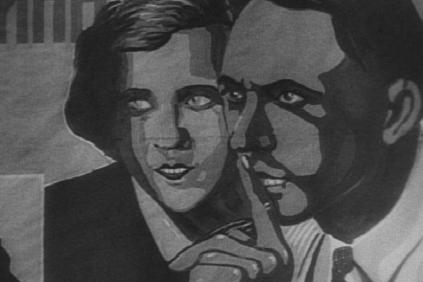 Silent Secrets: A still from 1929 classic Man with a Movie Camera