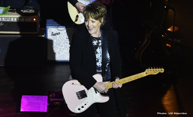 Shining Light: Katrina Leskanich in live action (Photo: Ulf Skjernbo)
