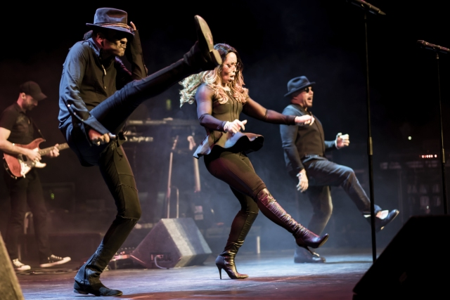 In Step: Shalamar feel the groove in concert, with Jeffrey Daniel and his bandmates still aiming high