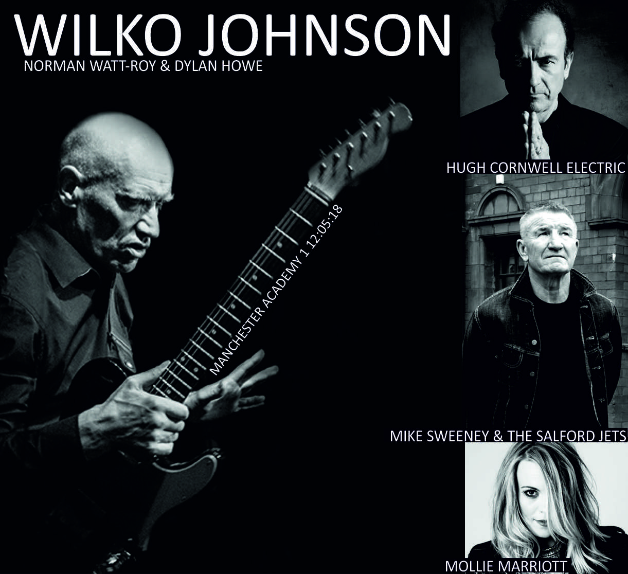 Five years after being diagnosed with terminal pancreatic cancer, R'n'B  guitar legend Wilko Johnson is still very much with us, in the form of his  life, ...