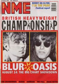 Boxing Clever: Stuart Bailie was held responsible by Noel Gallagher for the BritPop phenomenon.
