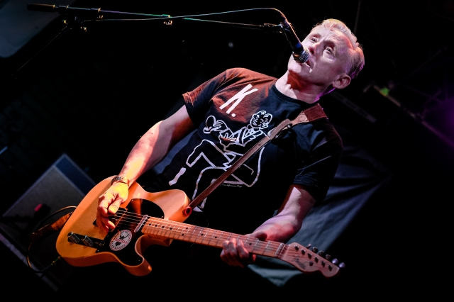 Captain Kirk: Kirk Brandon with Theatre of Hate at Chester Live Rooms (Photo copyright: Warren Meadows)