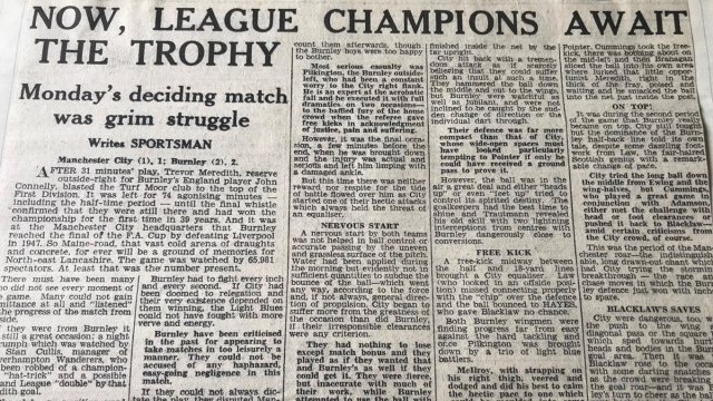 Match Report: The Burnley Express take on the game that settled the 1959/60 league title