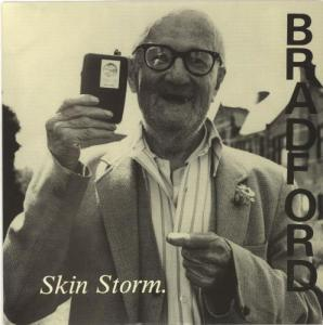 Morrisey's Favourite: Skin Storm, the debut single by Bradford, from a Chris Ball photograph