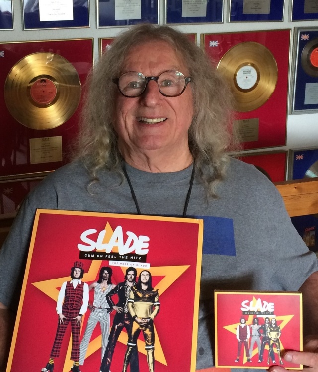 Powell Wow: Don Powell with the Cum on Feel the Hitz: The Best of Slade compilation, the band's most recent UK top-20 hit